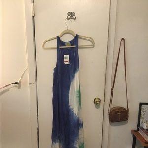C&C California tie dye dress brand new